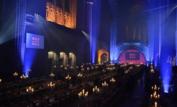 Wolf Hall Dinner At Liverpool Cathedral 1 Web